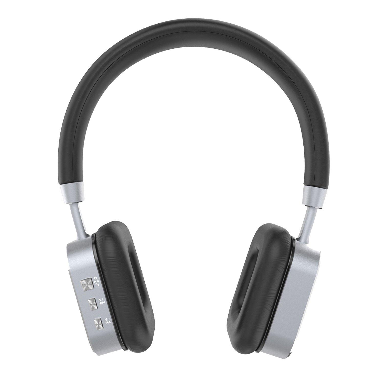 HOCO HPW01 Wireless Over-ear Stereo Bass Bluetooth 4.1 Sports Headphone (Silver)