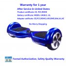 Mini Smart Self Balancing Electric Drifting Hoverboard Unicycle Scooter 2 wheels (Blue)