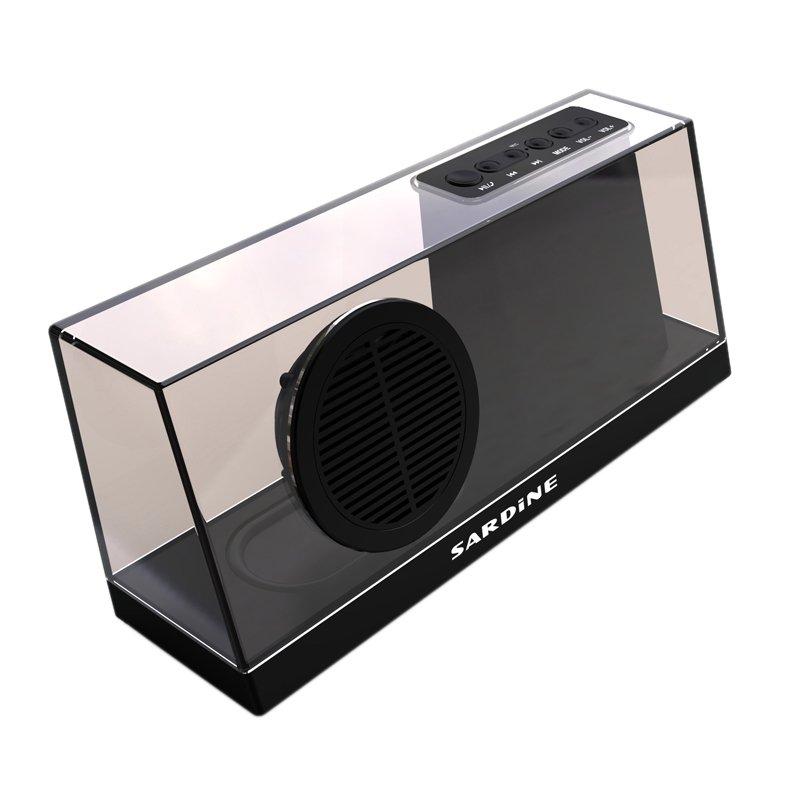 Sardine SDY-033 Transparant Bluetooth Speaker