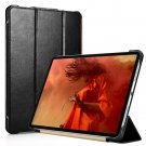 "iCarer iPad Pro 12.9"" 2018 Genuine Leather Tri-fold Stand Smart Folio Flip Case Cover (Black)"