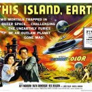 This Island Earth Movie Jeff Morrow 24x18 Print POSTER