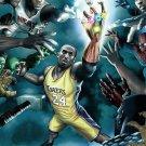 NBA Sport Kobe Bryant Lebron James 24x18 Print POSTER