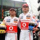 Jenson Button Sport Formula 1 Driver Lewis Hamilton 24x18 Print POSTER