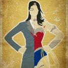 Wonder Woman Princess Diana 24x18 Print POSTER