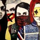 My Chemical Romance Painting Art Vintage 24x18 Print Poster
