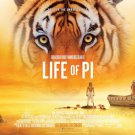 Life Of Pi 2012 Movie Tiger 24x18 Print Poster