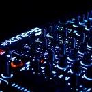 DJ Mixer Mixing Desk Music 24x18 Print Poster