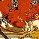 Okami Japanese Style Paper Art 24x18 Print Poster