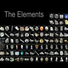Periodic Table Of The Elements Realistic 24x18 Print Poster