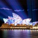 Australia Sydney Opera House Cityscape 24x18 Print Poster