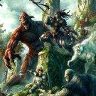 Battle Elves Fantasy Art 24x18 Print Poster