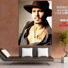 Johnny Depp Hot Portrait Actor Huge Giant Print Poster