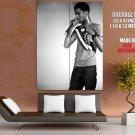 Kid Cudi Hip Hop Music Bw Huge Giant Print Poster