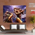 Perfect World Battle Art Mmorpg Game Huge Giant Print Poster