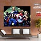 The Avengers Marvel Comics Art Huge Giant Print Poster