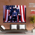 The Beatles American Flag Legends Music Huge Giant Print Poster