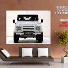 Startech Land Rover Defender Front Car Huge Giant Print Poster