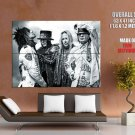 Motley Crue Heavy Metal Hard Rock Music Huge Giant Print Poster
