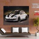 Volkswagen Beetle Vw Abt Stripes Car Huge Giant Print Poster