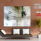 What Are You Looking At Banksy Graffiti Street Art Huge Giant Print Poster