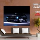 Jaguar Concept Eight Headlights Car Huge Giant Print Poster