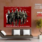 Inglourious Basterds Characters Art Movie Huge Giant Print Poster