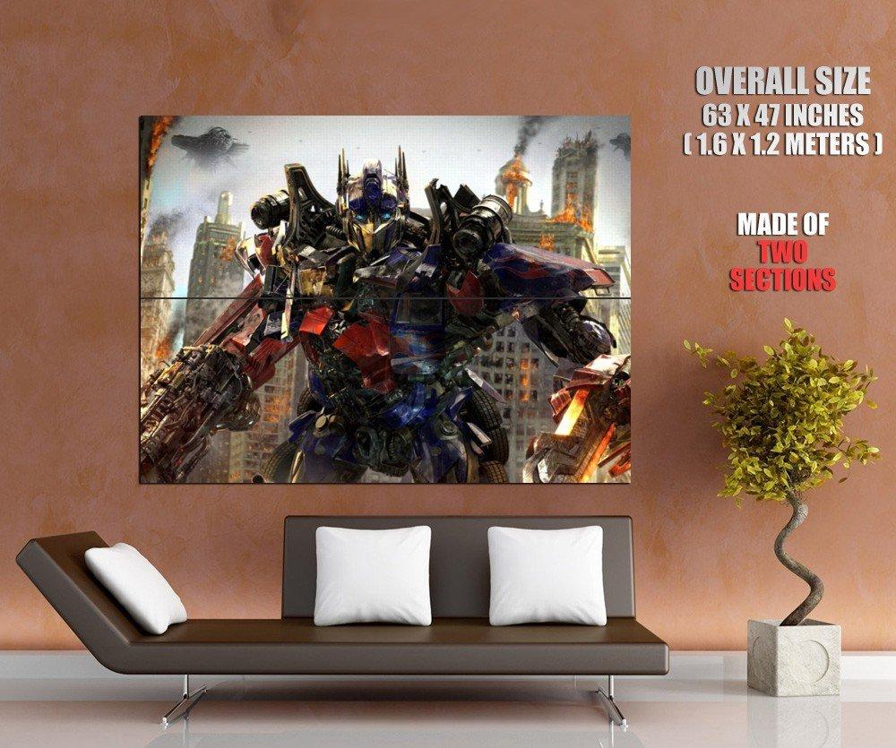 Optimus Prime Transformers Movie Art Huge Giant Print Poster