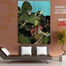 Godzilla Vs Gekido Jin Japanese Art Huge Giant Print Poster