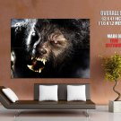 Wolfman Werewolf Horror Movie Huge Giant Print Poster