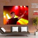 Ian Brown Live Alternative Rock Music Huge Giant Print Poster