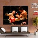 Wanderlei Silva Kick Mma Mixed Martial Arts Huge Giant Poster