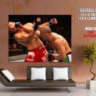 Wanderlei Silva Vs Michael Bisping Mma Mixed Martial Arts Huge Giant Poster