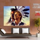 Dances With Wolves Native American Art Indians Huge Giant Poster