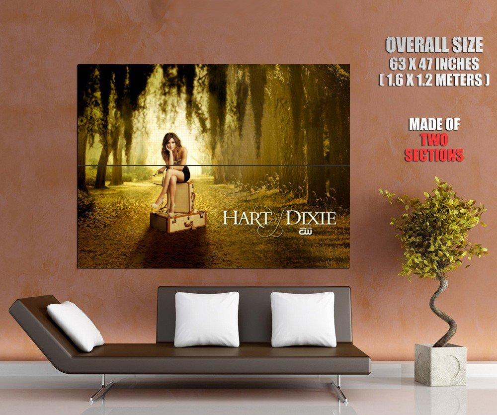 Hart Of Dixie Rachel Bilson Dr Zoe Hart Tv Series Huge Giant Poster