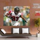 Michael Turner Atlanta Falcons Nfl Football Sport Huge Giant Poster