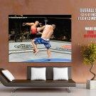 Pat Barry Kick Mma Mixed Martial Arts Huge Giant Print Poster