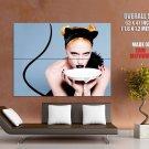 Gwen Stefani Cat Milk Hot Singer Music Huge Giant Print Poster
