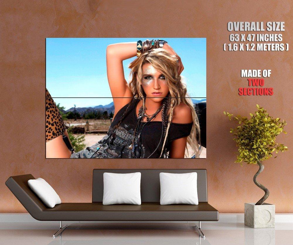 Kesha Rose Sebert Hot Singer Music Huge Giant Print Poster