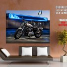 Harley Davidson Sportster Chopper Huge Giant Print Poster