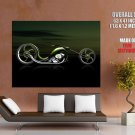 Slither 3 D Concept Bike Motorcycle Huge Giant Print Poster