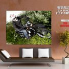 Mbk X Limit Enduro Offroad Bike Huge Giant Print Poster