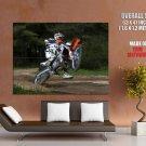 Ktm 250 Exc Offroad Bike Motorcycle Huge Giant Print Poster