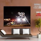 X Fighters Motocross Bike Motorcycle Huge Giant Print Poster
