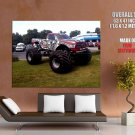 Raminator Monster Truck Bigfoot Car Huge Giant Print Poster