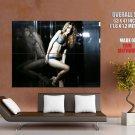 Sexy Model Girl Hot Legs Body Lingerie Huge Giant Print Poster