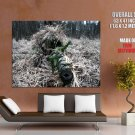 Sniper Field Craft Marksman Weapon Huge Giant Print Poster