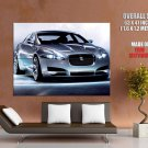 Jaguar Front Lights Sport Car Huge Giant Print Poster
