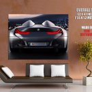 Bmw Vision Rear Future Concept Car Huge Giant Print Poster
