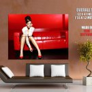 Rahanna Hot Sexy Legs Music Huge Giant Print Poster