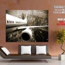 Shanghai Twilight Aircraft HUGE GIANT Print Poster